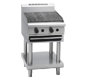 Waldorf 300mm, Gas, Char Grill with Leg Stand