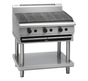 Waldorf CH8900G-LS Char Grill with Leg Stand - 900mm