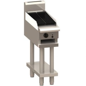 Luus 300 CS-3P Chargrill on Stand - Professional Series -