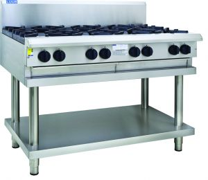 Luus 8-Burner Cooktop - Professional Series