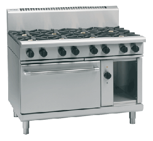 Moffat Waldorf 8810 Series RN8810GEC Gas Electric Convection Oven -