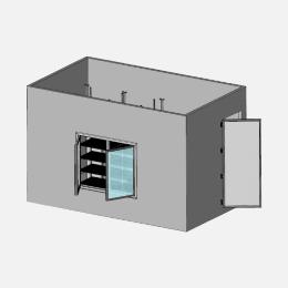 Deli / butcher refrigerated display case
