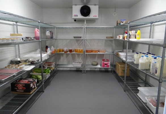 Commercial refrigerated room