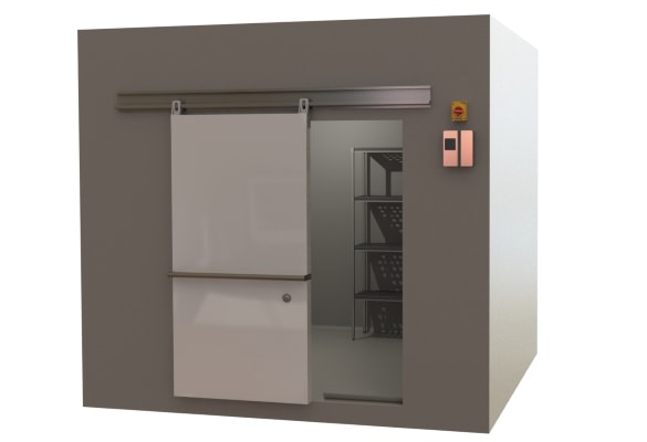 Commercial kitchen coolroom