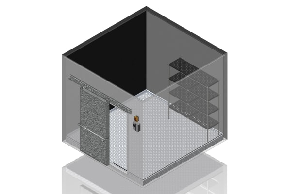 Commercial coolroom fitout